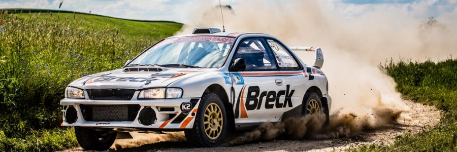 BRECK pads in rally cars